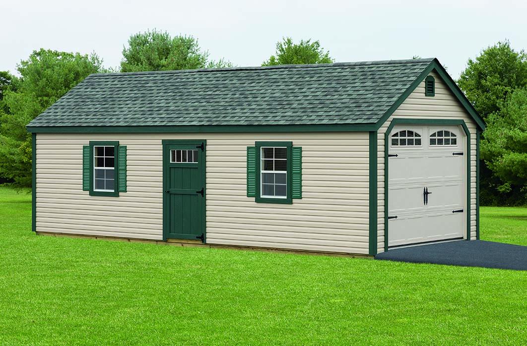 Build on site garage