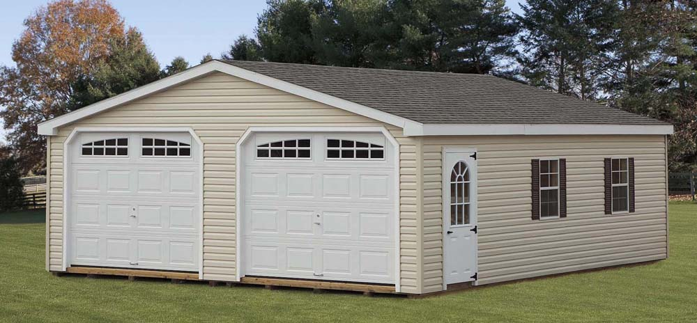 2 Car Garages Sheds Garages