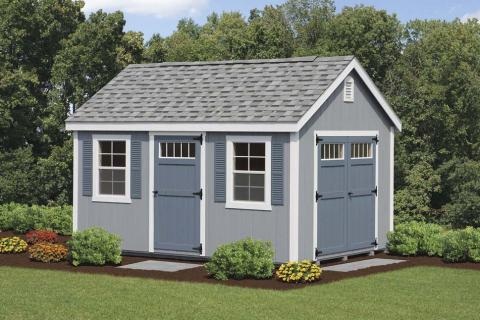 New England Style Colonial Storage Shed