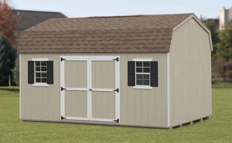 Classic Dutch Barn Storage Shed